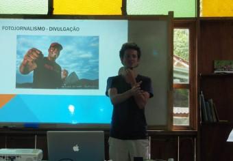 Felipe Varanda, professor e fotógrafo profissional
